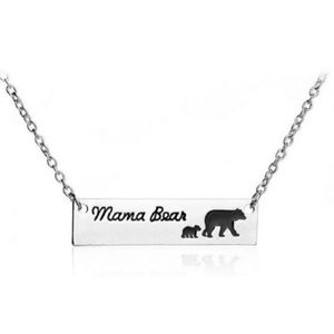 Jewelry - Mama Bear with Cub Necklace